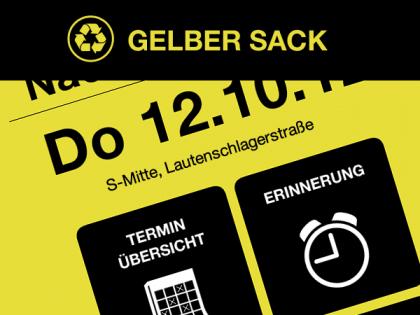 Gelber Sack App