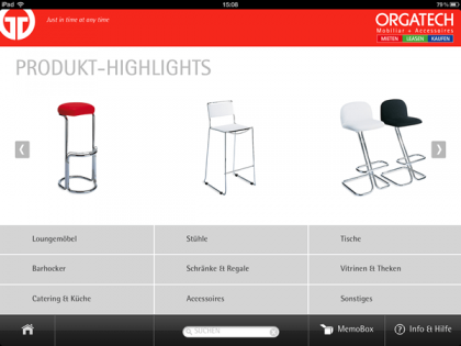 Orgatech App